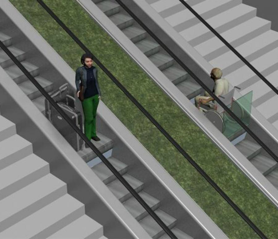 Aspaym galicia escaleras mec nicas universales para for Escaleras 15 metros